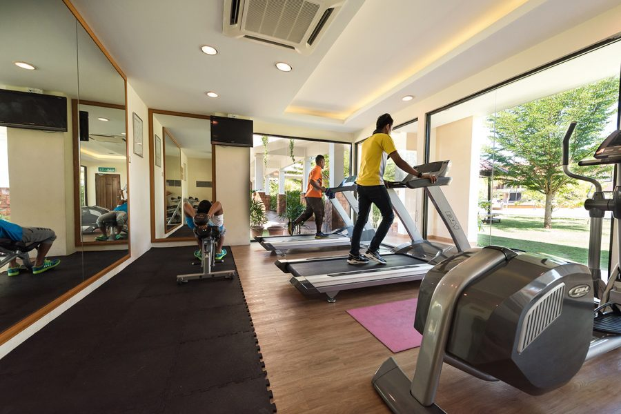 Tok Aman Bali Beach Resort Kelantan Mini Gym