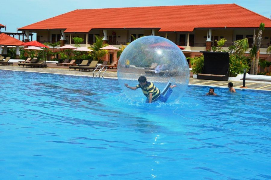 Tok Aman Bali Beach Resort Kelantan Water Ball Recreation